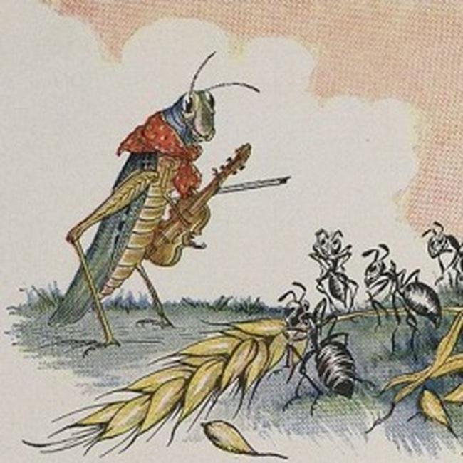 Truyện ngụ ngôn hiện đại về Châu chấu và Kiến (Phần 2)