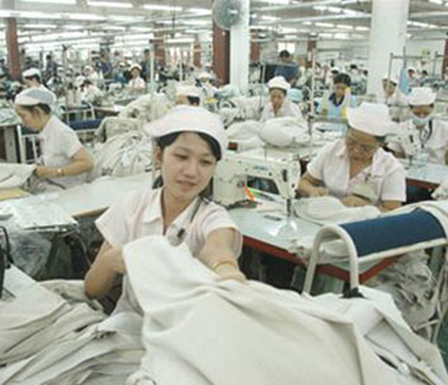 Kim ngạch xuất khẩu dệt may ước đạt 4,65 tỷ USD trong 6 tháng