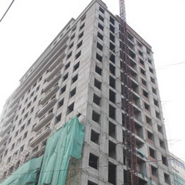 Xây chung cư 11 tầng tại quận Hai Bà Trưng