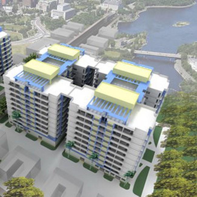 Đầu tư xây dựng chung cư cao tầng tại phường Tân Tạo, quận Bình Tân