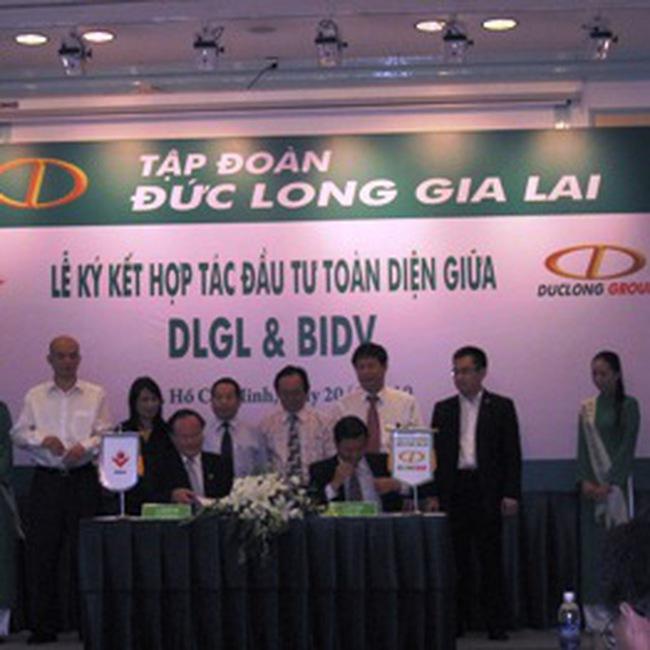 DLG: Ký kết hợp tác toàn diện với BIDV