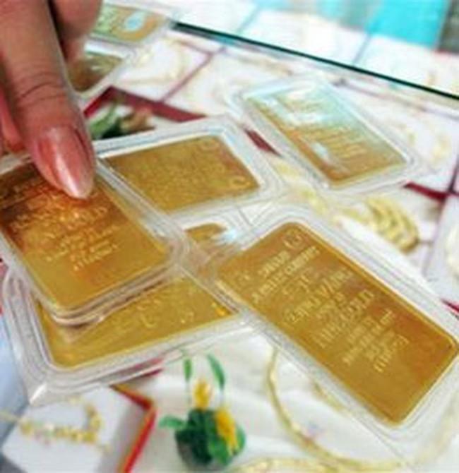 Giá vàng chạm mốc 28,6 triệu đồng/lượng