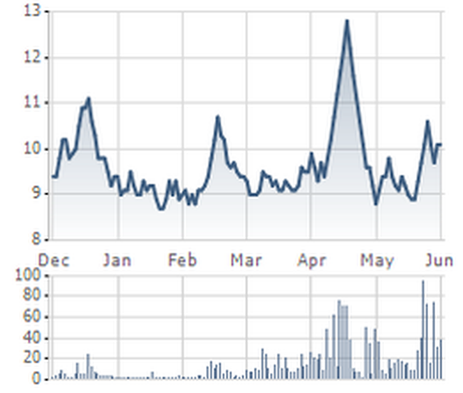 Công ty mẹ VKP lỗ 8,93 tỷ đồng trong quý I/2010