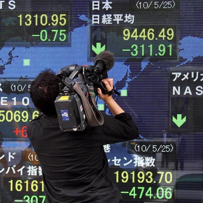 Thị trường châu Á tiếp tục đi xuống