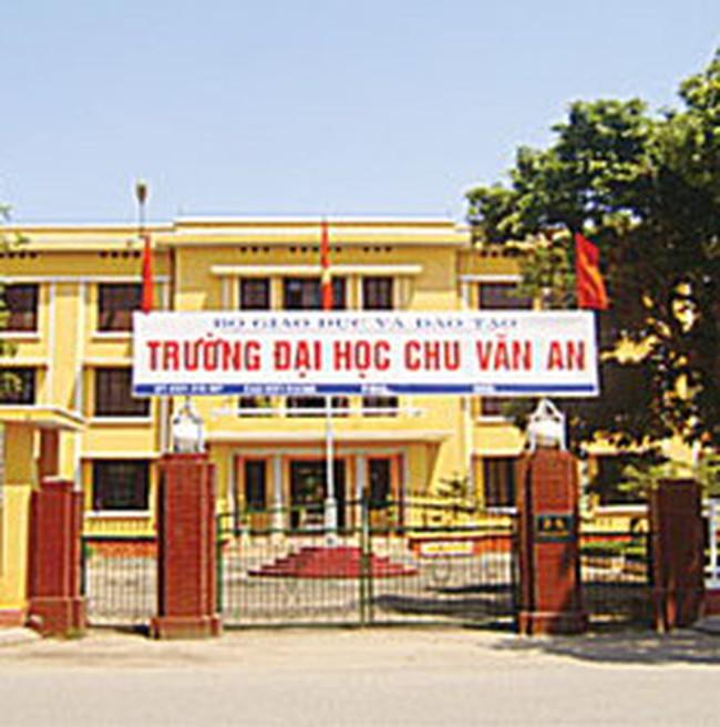 Lình xình mua bán cổ phần tại Đại học Chu Văn An