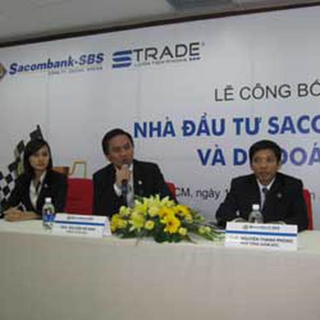 Sacombank –SBS: Dự kiến quý III chào bán riêng lẻ 2,85 triệu CP giá 35.000 đồng