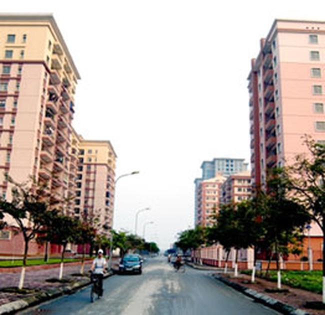 Thị trường chung cư Hà Nội đóng băng