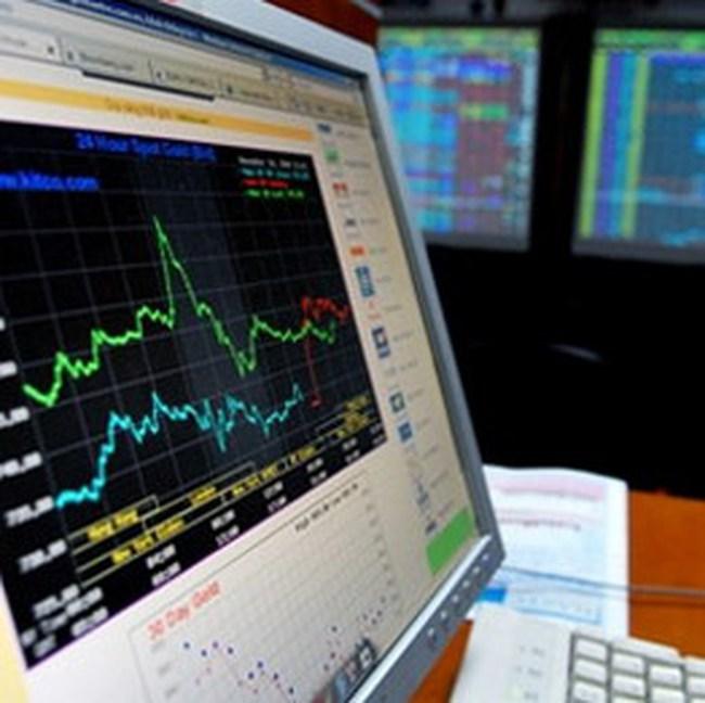 Cổ phiếu ngân hàng giúp VN-Index  tăng hơn 2 điểm