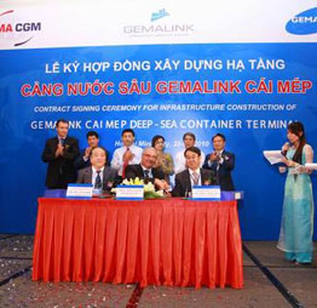 GMD: Hợp tác xây dựng cảng nước sâu Gemalink - Cái Mép