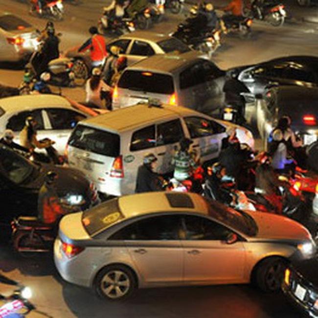 'Hà Nội cần có những tuyến đường dành riêng cho ôtô'