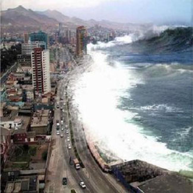 Nếu có sóng thần, bờ biển VN biến mất trong 2 giờ