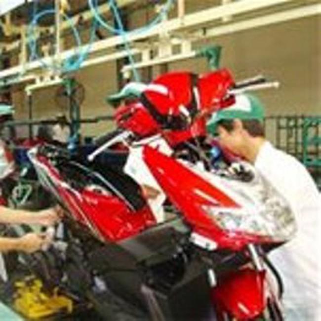 Honda Việt Nam tăng công suất sản xuất xe máy