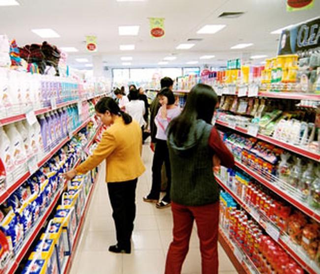 Khách đến siêu thị tăng trên 40%