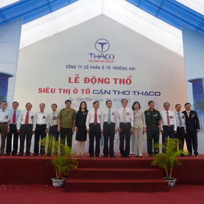 Trường Hải: Động thổ xây dựng siêu thị ô tô Cần Thơ Thaco