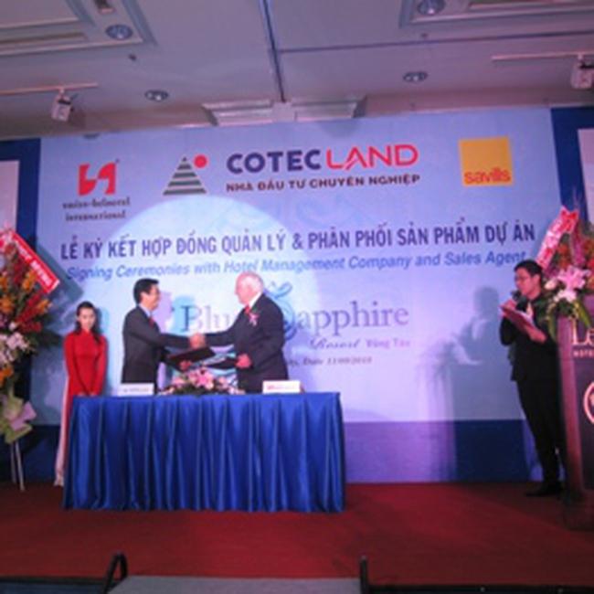 CLG: Ký kết hợp tác và phát triển dự án Blue Sapphire Resort Vũng Tàu