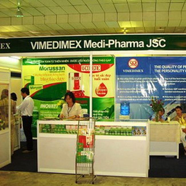 Vimedimex chính thức giao dịch ngày 30/9 với giá tham chiếu 40.000 đồng
