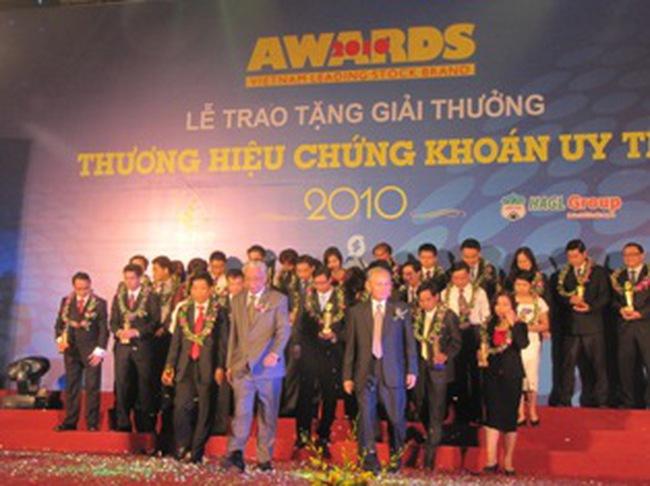 HBS: Nhận giải thưởng Thương hiệu Chứng khoán uy tín lần thứ 2