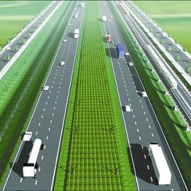 Đường cao tốc Biên Hòa - Vũng Tàu có sáu làn xe