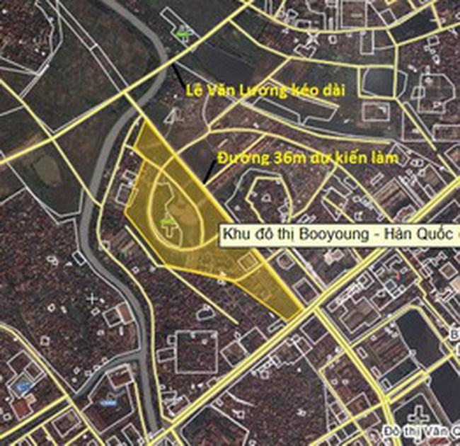 Hà Nội: Xây đường từ KĐT Mỗ Lao nối với đường Lê Văn Lương kéo dài