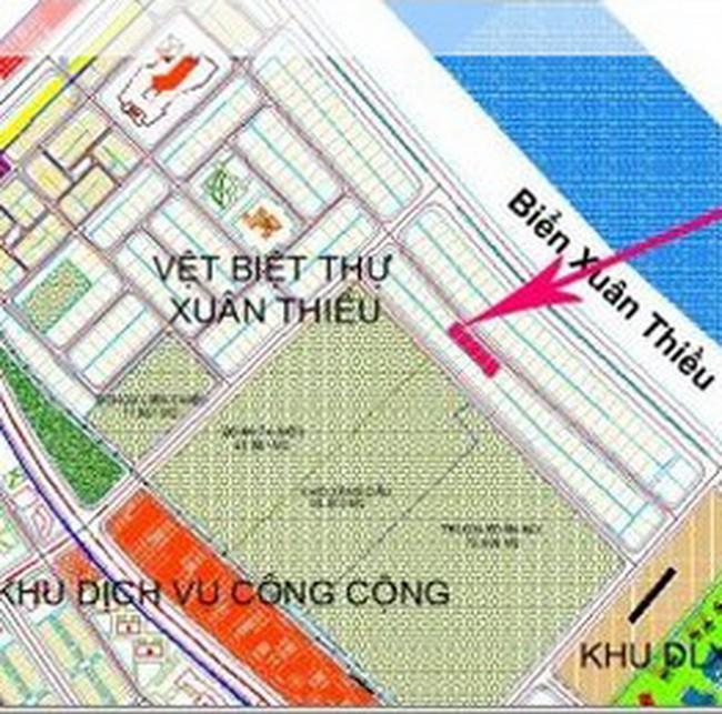 Đà Nẵng: Đấu giá 38 lô đất biệt thự