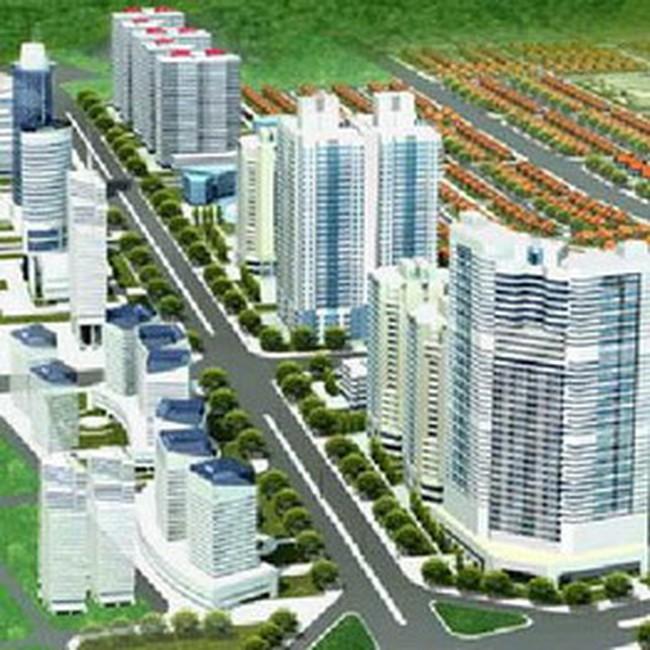 Dư nợ cho vay xây dựng khu đô thị mới tăng trưởng âm