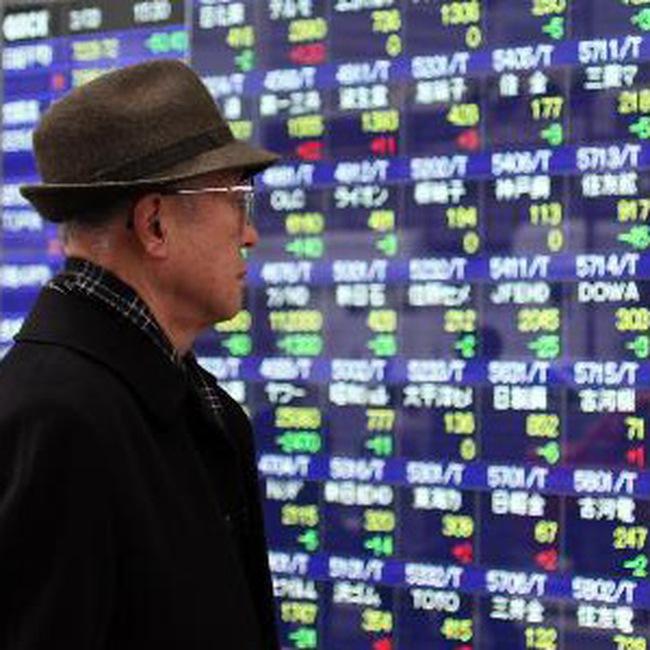 Cổ phiếu ngân hàng, khai mỏ kéo TTCK châu Á mất điểm