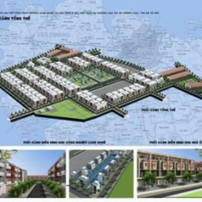 DBC: Công bố QHCT Cụm công nghiệp làng nghề và khu nhà ở kết hợp DVTM ở Từ Sơn