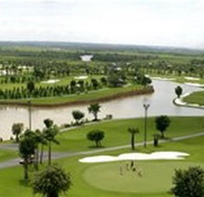 """Sân golf ở Tp.HCM """"ngốn"""" trên 1.000 ha đất"""