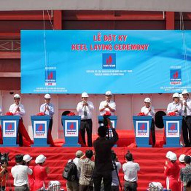 PV Shipyard: Đặt Ky giàn khoan tự nâng 90m nước - công trình cơ khí trọng điểm quốc gia