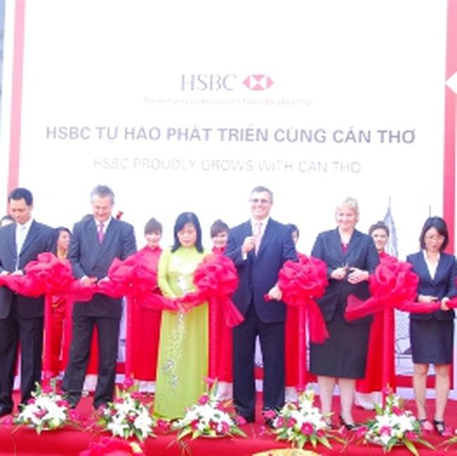 Ngân hàng HSBC Việt Nam: Khai trương chi nhánh Cần Thơ