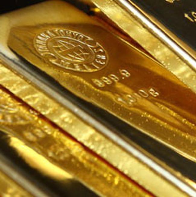 Giá vàng lên sát 1.300USD/ounce