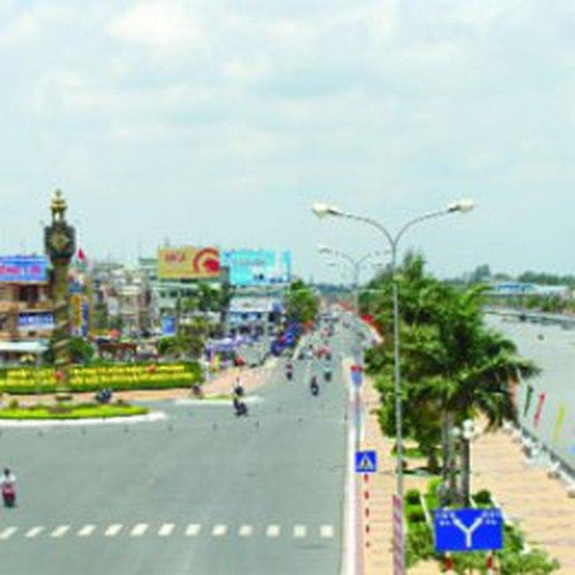 Thị xã Vị Thanh trở thành thành phố thuộc tỉnh Hậu Giang