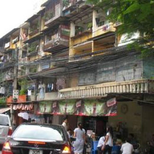 Bồi thường chung cư cũ bằng 2,5 lần diện tích