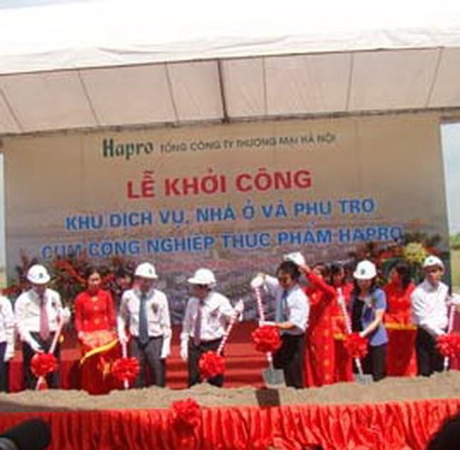 225 tỷ đồng xây dựng Khu dịch vụ, nhà ở cụm công nghiệp Hapro