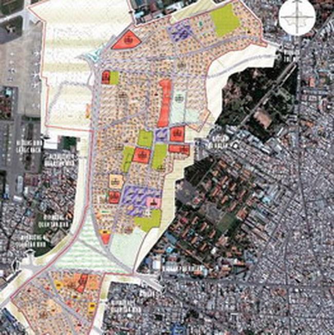 TP.HCM: Điều chỉnh QHCT 1/2000 Khu dân cư phường 2 – 3, quận 8