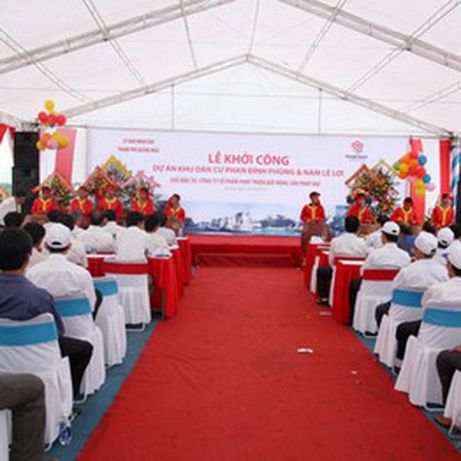 Khởi công khu dân cư Phan Đình Phùng, TP. Quảng Ngãi