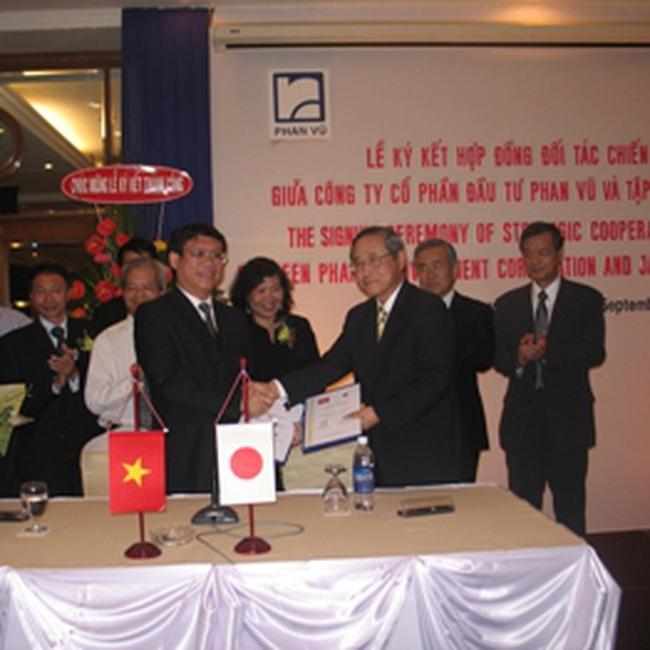 Đầu tư Phan Vũ ký kết hợp tác chiến lược với đối tác Nhật