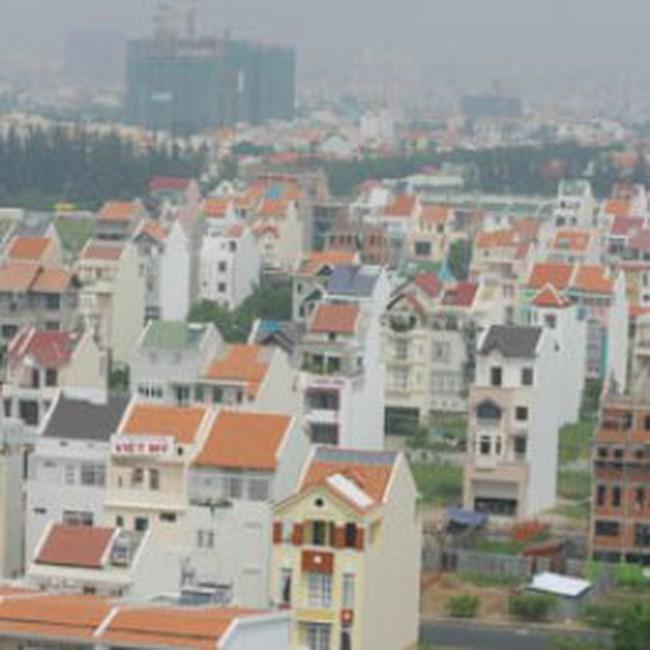 Giá nhà, đất nhỏ lẻ tại TP.HCM tăng theo giá vàng