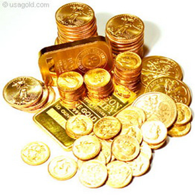 Chiều 4/10, vàng tăng tiếp 100 nghìn đồng lên 31,64 triệu đồng/lượng