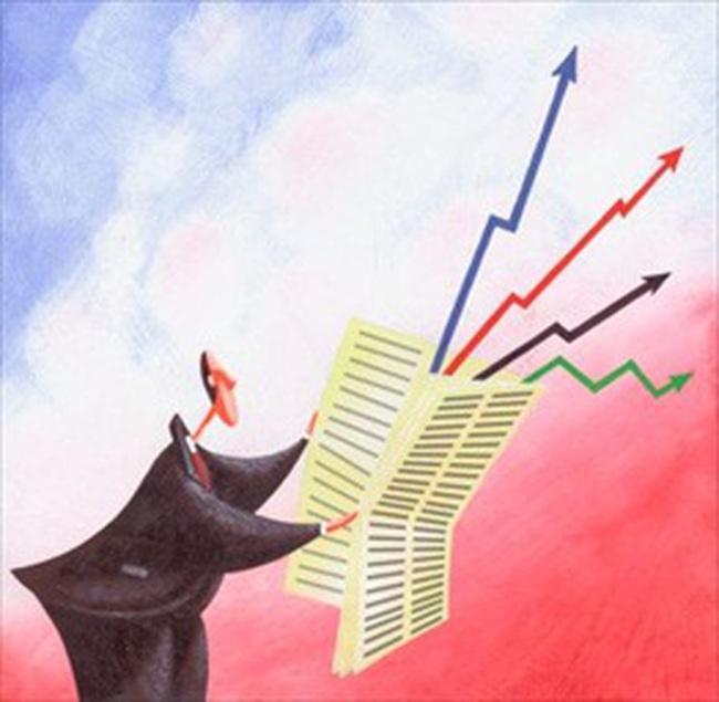 VN-Index cầm cự trên mốc 440 điểm