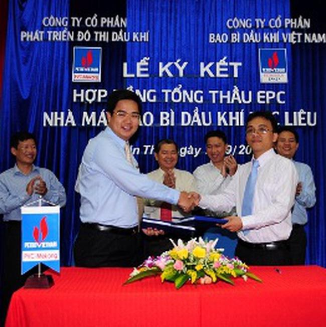 PET, DPM: Ký kết hợp đồng Tổng thầu EPC Nhà máy bao bì Dầu khí Bạc Liêu