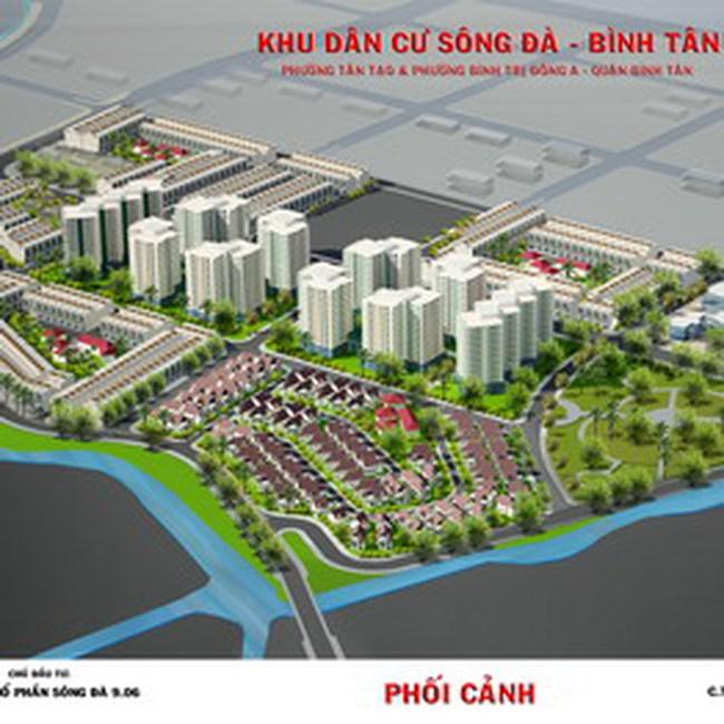 Phê duyệt QHCT 1/500 Khu đô thị Sông Đà – Bình Tân