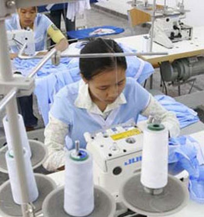 Giá xuất khẩu hàng dệt may tăng 20%