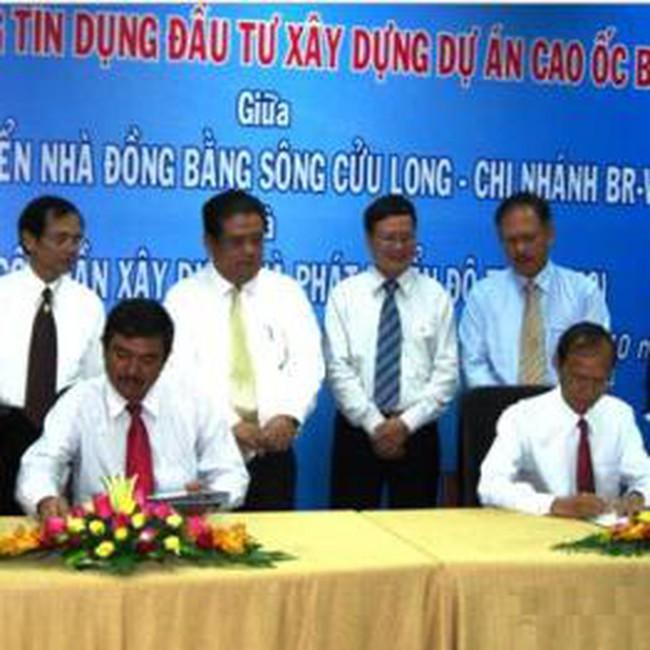 MHB ký hợp đồng cho UDC vay 200 tỷ đồng tài trợ Dự án Cao Ốc Bàu Sen