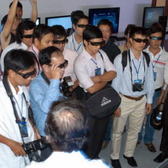 VTC: Sẽ phát sóng truyền hình 3D trong tháng này