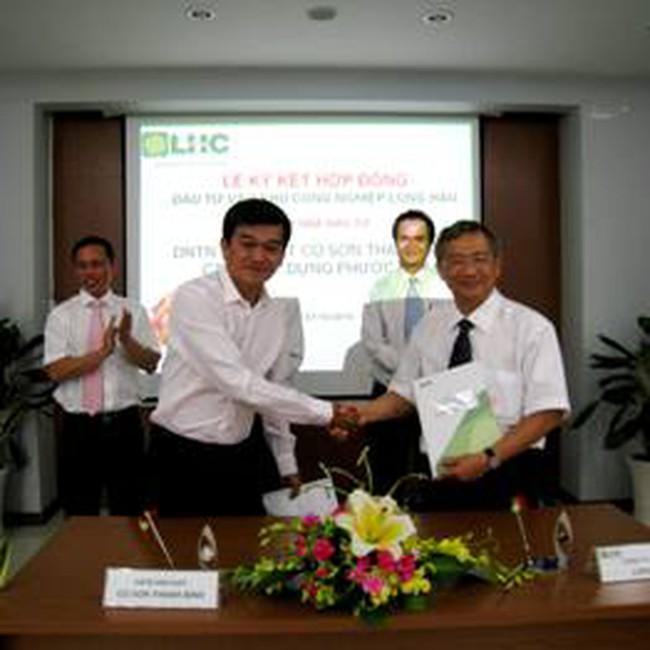 LHG: Tiếp tục ký hợp đồng cho thuê đất tại khu CN Long Hậu với 2 DN