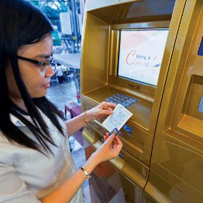 Vàng bán qua ATM đang tăng