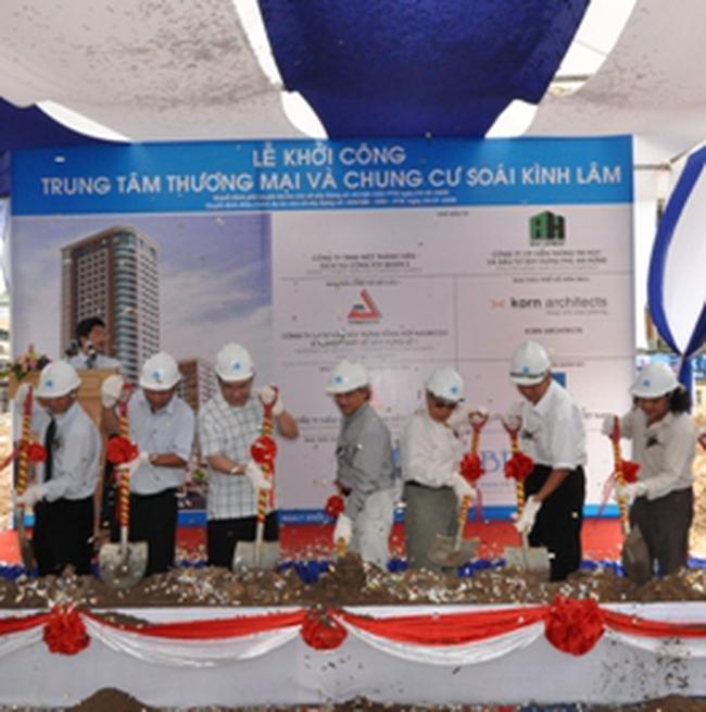 HBC: Khởi công dự án Trung tâm Thương mại và Chung cư Soái Kình Lâm