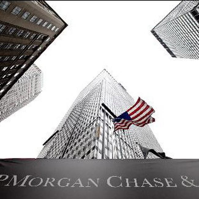 JP Morgan Chase công bố lợi nhuận ròng tăng 23%
