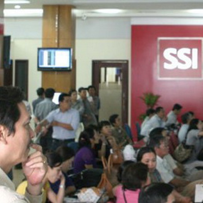 SSI: LNST hợp nhất 9 tháng đạt 569,8 tỉ đồng đạt 62,8% kế hoạch